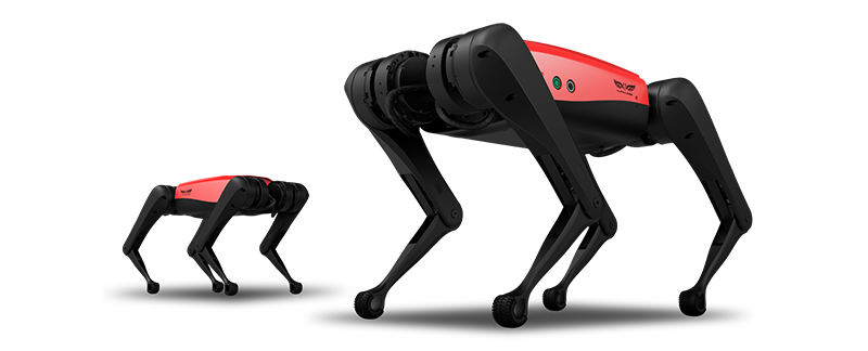 Two AlphaDog C Stand
